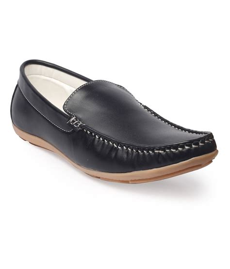 buy leather loafers blisshoes blue leather loafers price in india buy