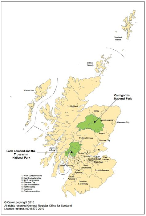 scotland mapping the nation population projections for scotland s strategic development plan areas and national parks 2008