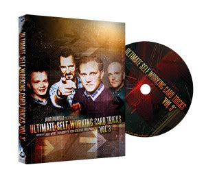 Dvd Magic Steve Rowe Lolli ultimate self working card tricks volume 3 review www bicycle cards co uk