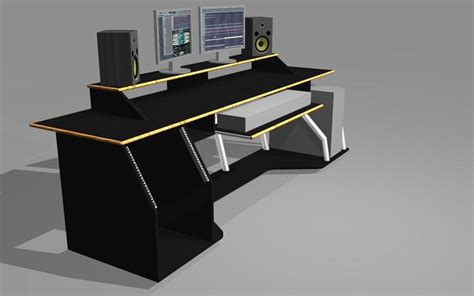 home studio desk plans recording studio desk plans diy recording studio desk
