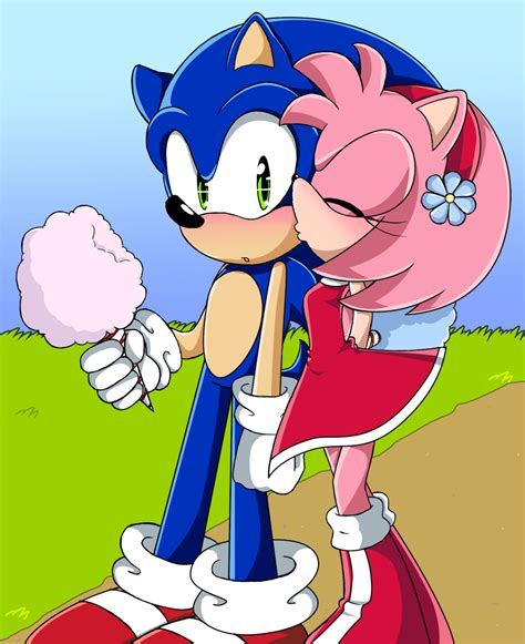 sonic and amy humps sweet like cotton candy sonic and amy photo 20069614