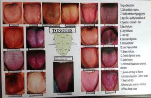 tongue color alternatives products large charts