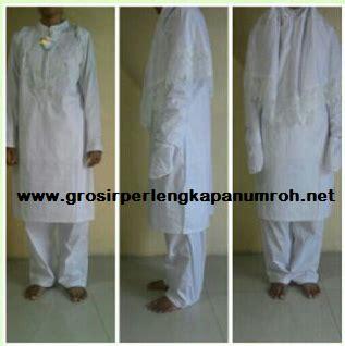 Perlengkapan Haji Umroh Stelan Gamis Katun Lengkap Set paket pakaian ihram wanita pusat agen perlengkapan