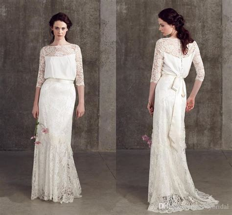 Vintage Wedding Dress 3 by Discount Vintage Wedding Dresses Lace 3 4 Sleeve
