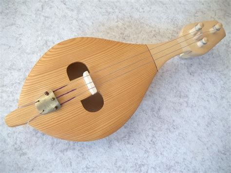 Handcrafted Musical Instruments - string instrument handmade lute catawiki