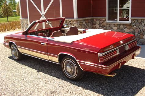 1984 Chrysler Lebaron by 1984 Chrysler Lebaron Convertible 203551