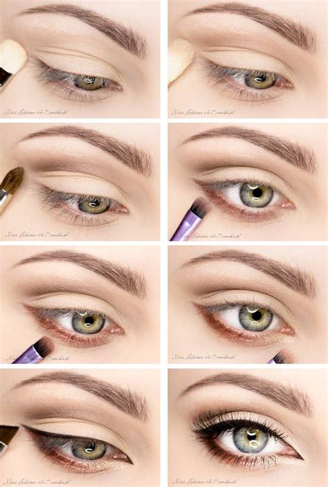 makeup tutorial natural look for green eyes day makeup for autumn natural eye make up tutorial