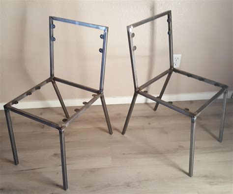 diy furniture frames steel dining chair frame set of 2 chair frames diy create your