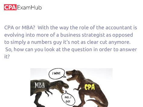 Or Mba Which Is Better by Cpa V Mba Which Is Better For An Accountant