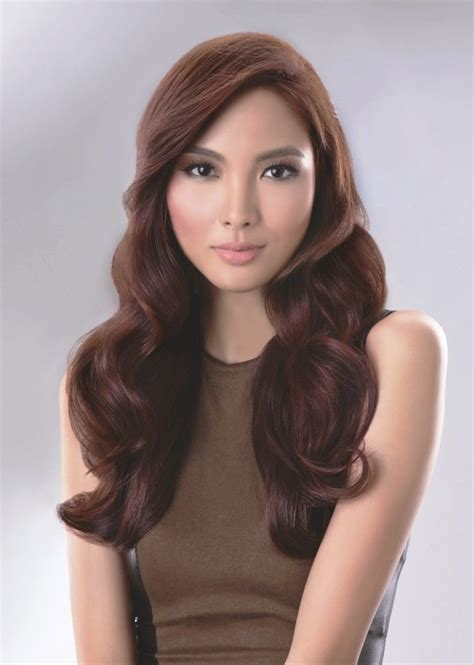 filipina celebrity hair color manila shopper every filipina mestiza morena or chinta