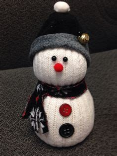 diy sock snowman ornament the world s catalog of ideas