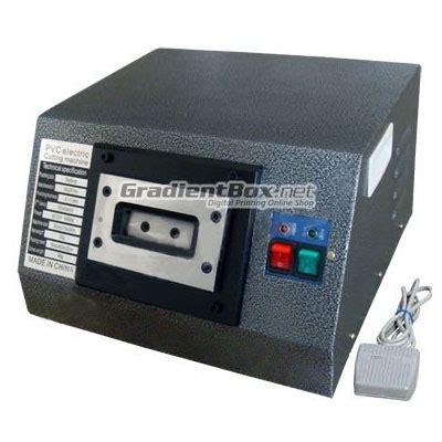 mesin plong elektrik pvc id card semi otomatis