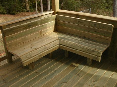 corner deck bench corner deck bench 28 images corner deck bench plans