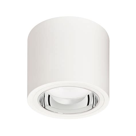 dn570c led40s 830 psed e c d250 wh luxspace surface mounted philips lighting