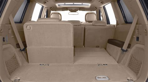 2014 3rd row seating suvs with most cargo space autos post