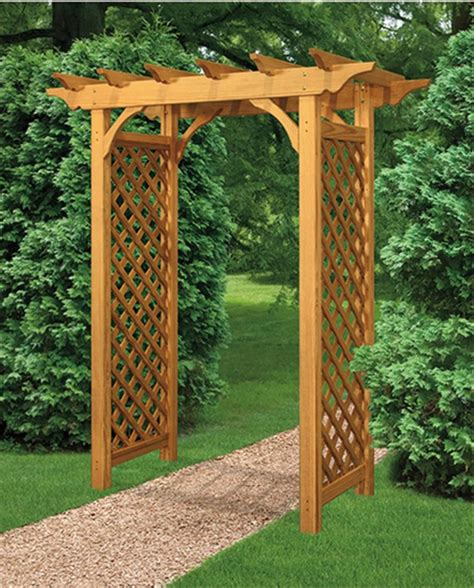 Wedding Arbor Plans by Garden Arbor Plans Designs My Journey