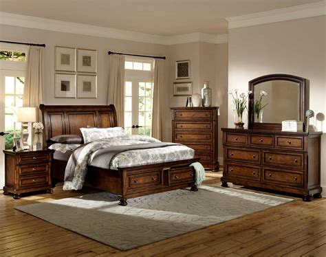 Homelegance Bedroom Set by Homelegance Cumberland Platform Bedroom Set Brown Cherry