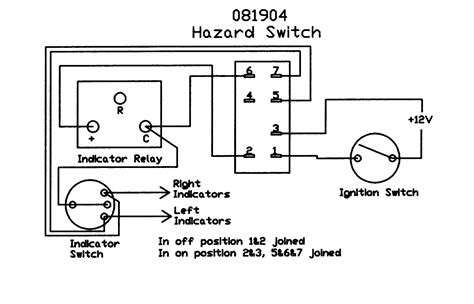 hazard relay wiring diagram motorcycle hazard lights