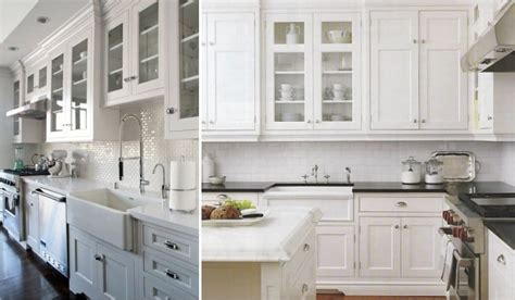 Glass Cabinets Kitchen 90