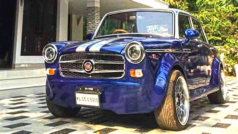 modified premier padmini  undoubtedly   indias  restomods motoroids