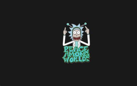 wallpaper 4k rick and morty peace among worlds rick and morty full hd wallpaper