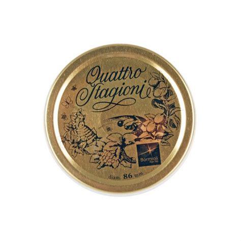 Quattro Stagioni Jar W Lid 1l 86mm lids for 1l and 1 5l canning jars set of 2