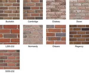 brick colors 1000 images about new home brick colors on