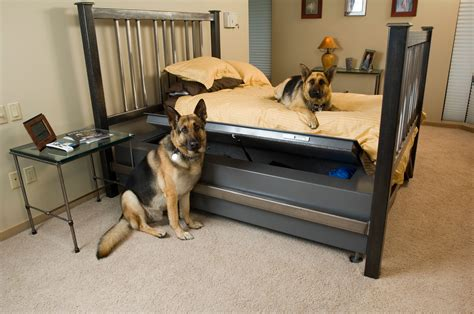 great hunting dog bed set bullet proof furniture conceals a gun safe woodworking network