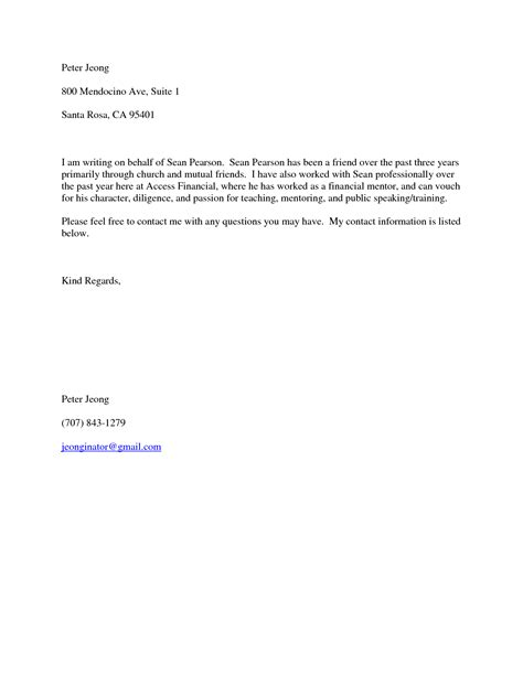 Letter Of Recommendation Template Doc recommendation letter for a friend template resume builder