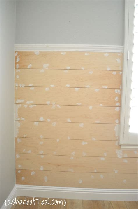 diy shiplap diy faux shiplap wall a shade of teal