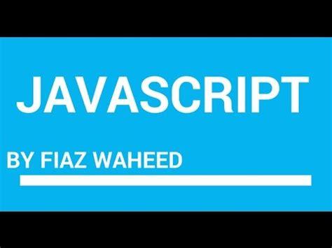 javascript tutorial hindi video javascript error checker lec 5 javascript tutorials for