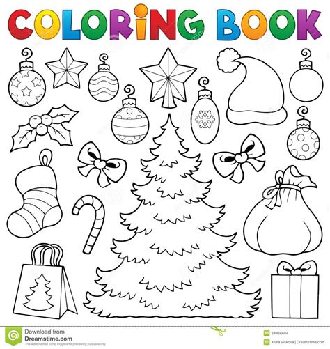 coloring book vector coloring book decor 1 stock images image 34466604