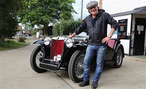 7 Cars For That Rock by Ac Dc Lead Singer Brian Johnson Visits Mg Hq In New Quot Cars