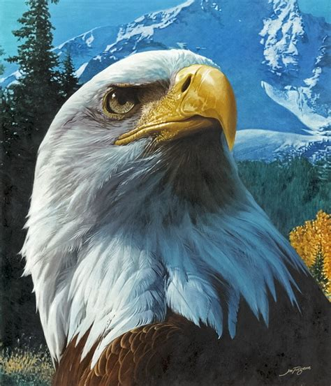 bob ross painting birds quot eagle mountain quot painting bird paintings