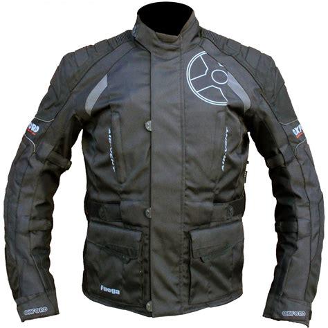 reflective bike jacket oxford fuega waterproof motorcycle motorbike reflective