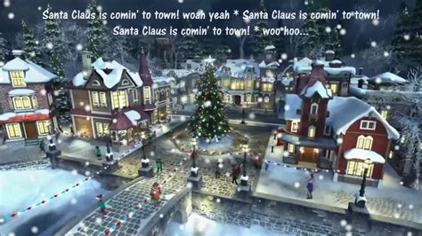 santa claus  coming  town michael jackson  lyrics merry christmas youtube