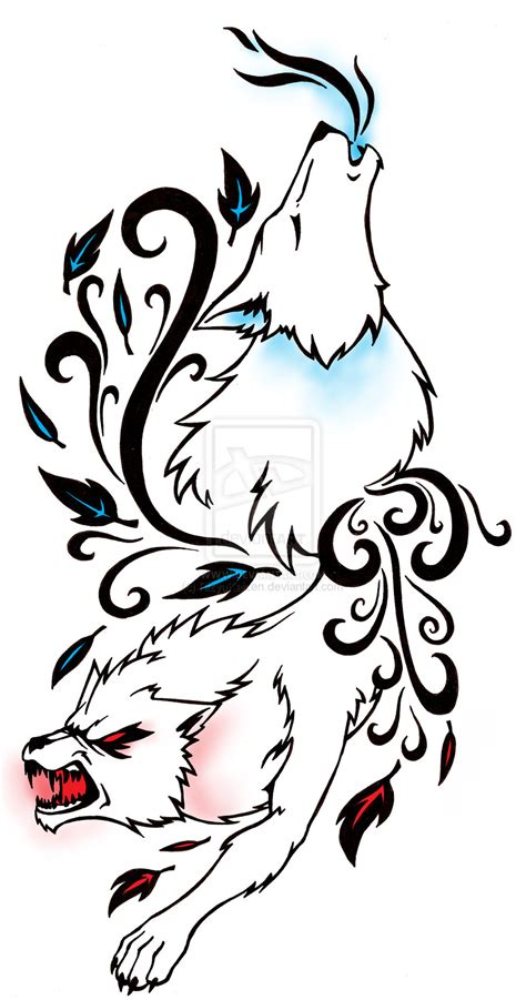 howling wolf tattoo designs wolf tattoos page 62