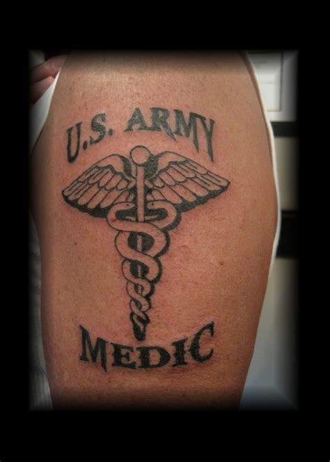 soldier sign tattoo u s army combat medic soldiers sailors marines