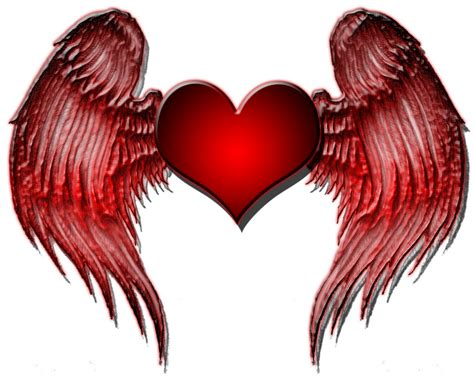 imagenes de corazones goticos con alas im 225 genes de corazones con alas