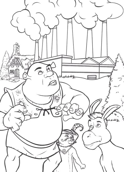 shrek coloring pages games coloring page shrek coloring pages 20