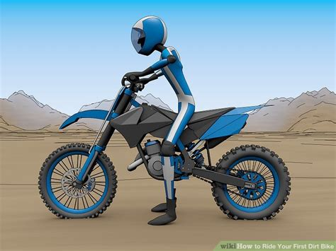 how to ride motocross bike how to ride your first dirt bike 10 steps with pictures