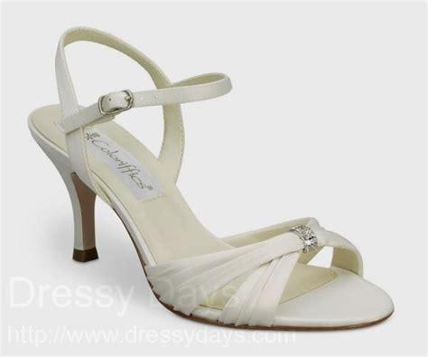 wide width bridal shoes bridal shoe in ivory wide width