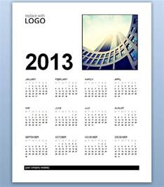 Ms Word Templates 2013 by Free Business Calendar 2013 Template For Ms Word 2013