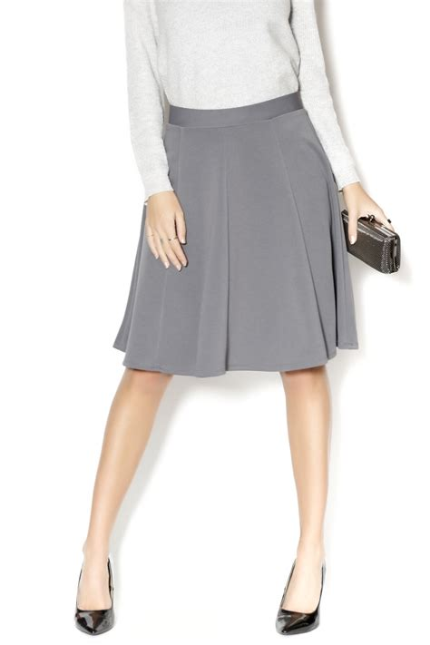 timing gray a line skirt from by clothes minded