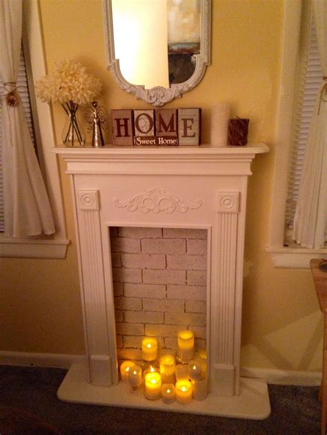 82 Best Images About Faux Fireplaces On Pinterest Faux Fireplace Ideas