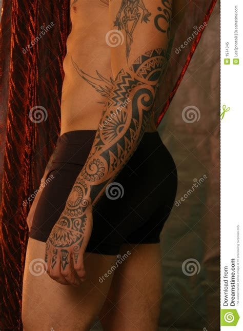 crotch tattoos stock image image of crotch abdomen