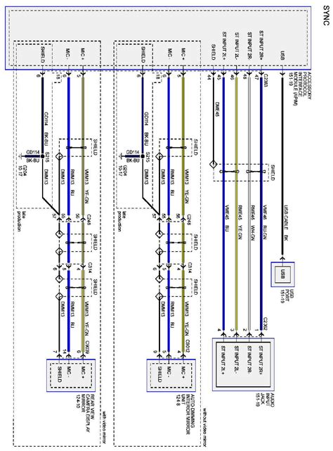 subwoofer wiring harness diagram 2007 ford f 150 wiring