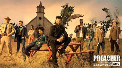 Preacher Book Three Buy In Preacher 2016 3 Trailers 3 Featurettes Amc Announces Talking Preacher Filmbook
