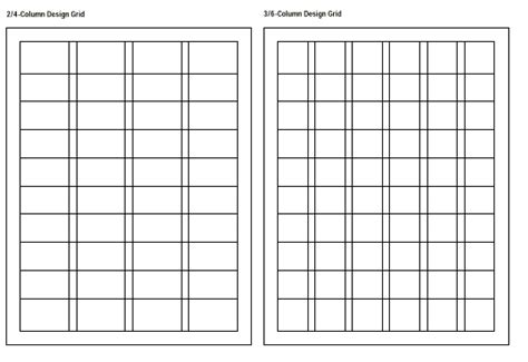 layout grid print cookbook layout research megame