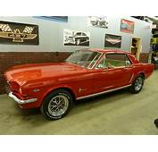 645 Red Ford Mustang  Mustangs Coupe 64
